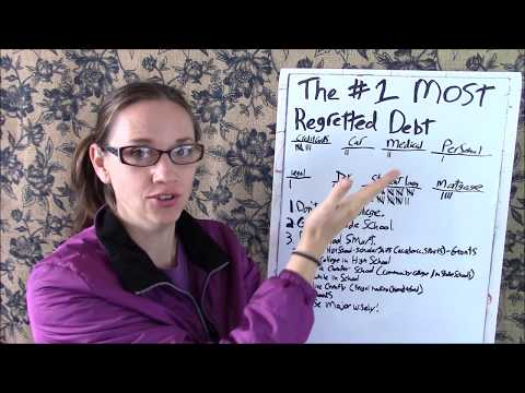 The #1 Most Regretted Debt! (& How To Avoid It!)
