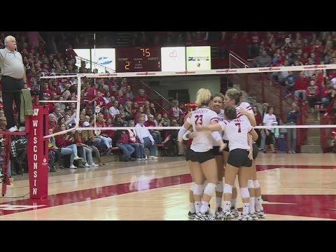 Badgers volleyball thrilled to be 3rd overall seed for NCAA tournament