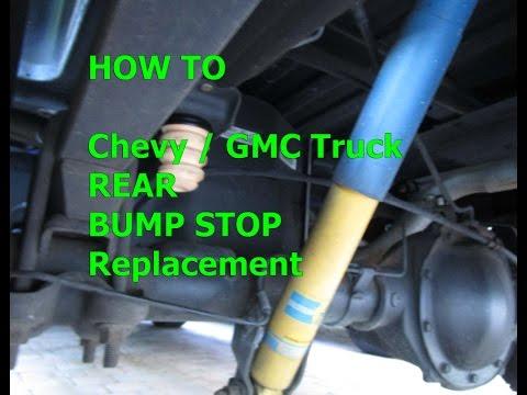 Bump stop replacement 99-2014 Chevy GMC truck, Sierra, Silverado REAR
