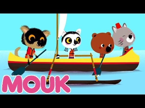 Mouk - Shipwrecked! (Madagascar) | Cartoon for kids