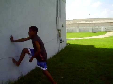 how to do a backflip off a wall