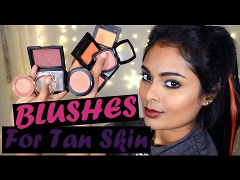 Top Blushes for Brown Tan Skin tone - Drugstore & High End - Mostly Cruelty Free