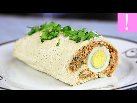 🔴 Chicken Roulade With Eggs | How to make a chicken roulade