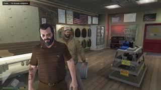 Grand Theft Auto V Michael & Trevor Play Tennis 07/07/2019 18:33:01