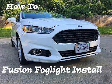 How to: Ford Fusion fog light install