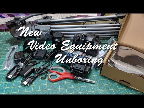 New Video Equipment Unboxing
