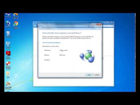 How to connect to home group in windows 7 Step By Step