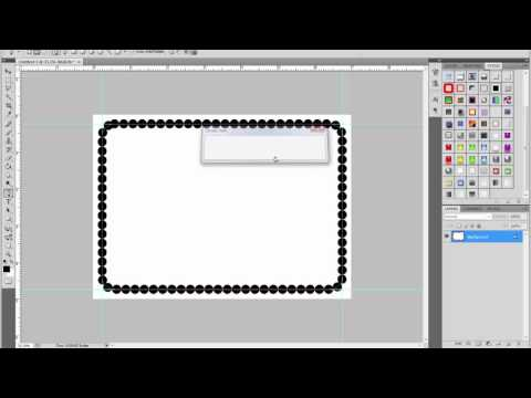 Add A Border With Photoshop Elements - Fancy Picture Frame Borders