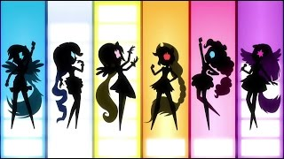 My Little Pony: Rainbow rocks| [La Película] Parte 1 [Español Latino]