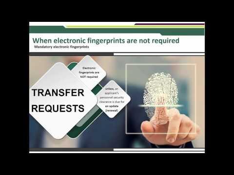 New Criminal Records Check Fingerprinting
