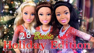 Unbox Daily: BARBIE 2017 Holiday Edition | 28 inch | Posable Dolls