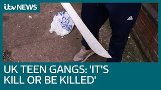 Machete-wielding teen on gang life:
