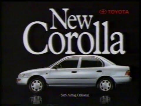Toyota Corolla 1994 Australian TV ad -