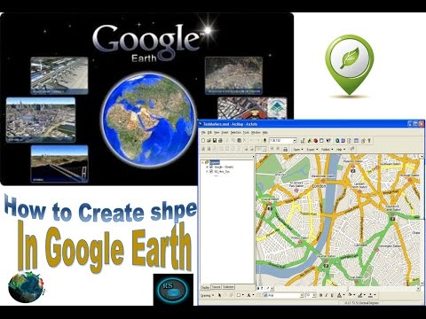 Create kml to shpe file from google earth Urdu hindi Part 1
