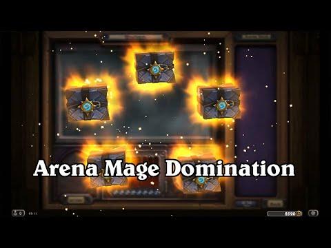 hearthstone arena mage domination