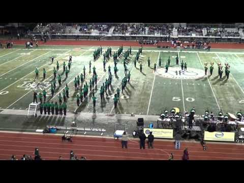 The Shape Of My Heart - Norman North Marching Band - 11/06/15