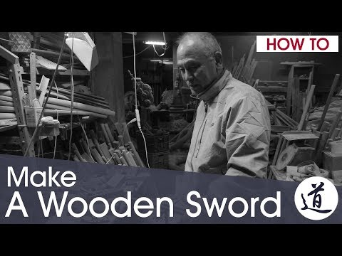 How To Make a Bokken - with Master Nidome Yoshiaki, Japanese Artisan