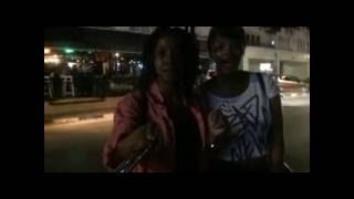 Collette and Amanda in Dereboyu Avenue ( North Cyprus Night Life) - In North Cyprus