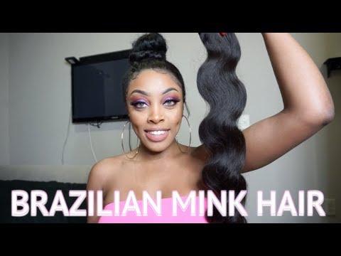 Diamond Dynasty Mink Brazilian Body Wave | Unboxing