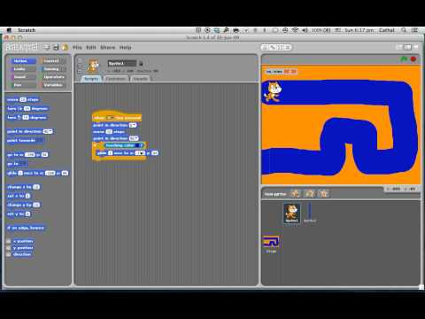 How to make a simple maze game in scratch