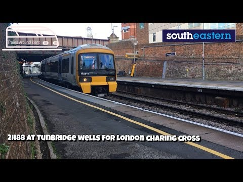 2H88 At Tunbridge Wells For london Charing Cross| Trains Around Kent
