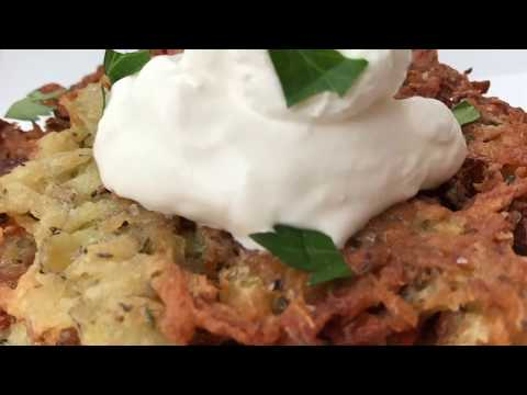Crispy Potato Pancakes Recipe - How to Make Incredible, Crispy Potato Pancakes