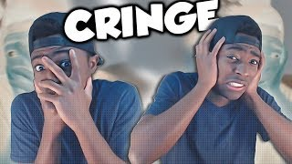 REACTING TO MY OLD CRINGY VIDEOS!! (EMBARRASSING)