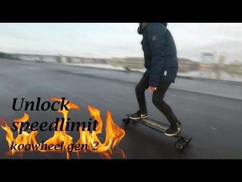 How To Unlock Speed Limit KooWheel Gen 2