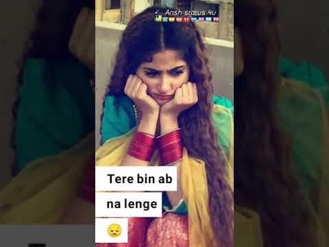 Tujhe Kitna Chahne Lage Hum Female Version Fullscreen Status Kabir
