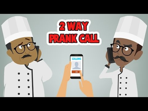 2 WAY CALL PRANK CALL - CONFUSING PEOPLE