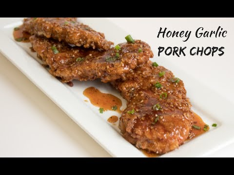 Honey Garlic Pork Chops | Bake It With Love