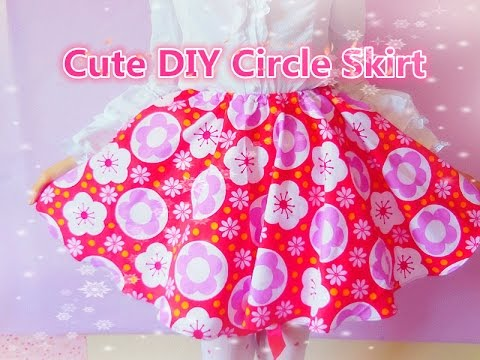 DIY Circle Skirt (without zipper method)