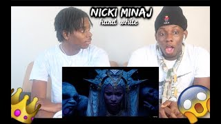 Nicki Minaj - Hard White - REACTION