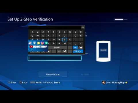 How to PS4 2 Step Verification for PSN Accounts PS4 PS4 Vita PSP PS APP