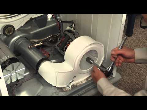 Dryer Repair - Replacing the Blower Housing (Frigidaire Part # 131775600)