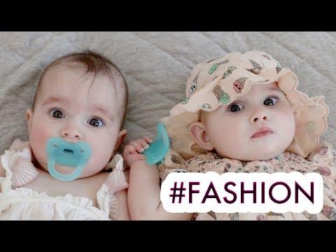 McBABY MONDAY FASHION WEEK 2018 - TWIN BABY GIRLS CLOTHING HAUL /// McHusbands