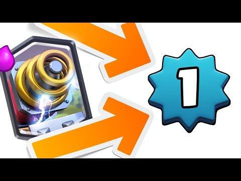 LEVEL ONE WITH SPARKY?? Best Sparky Deck for Arena 6? Clash Royale Gameplay Level 1