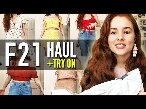 $200 Forever 21 Try-on Haul (2018)