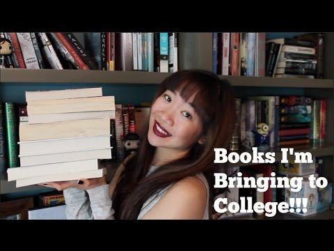 BOOKS I'M BRINGING TO COLLEGE!