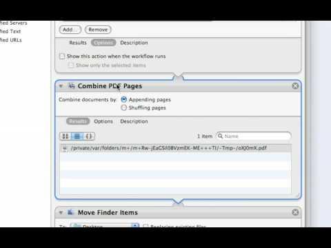 Combine Multiple PDF Documents