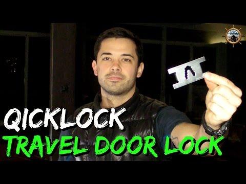 Qicklock Travel Door Lock // Portable Lock