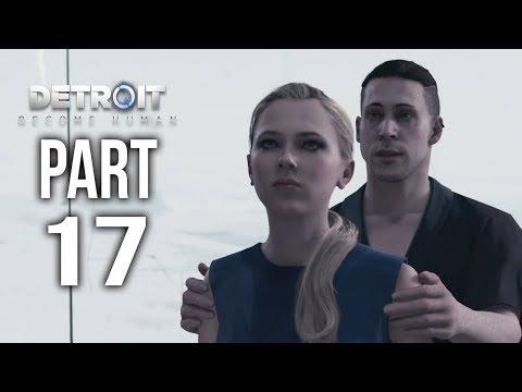 DETROIT BECOME HUMAN Gameplay Walkthrough Part 17 | The KAMSKI Test
