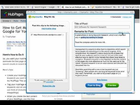 Top Secret Link Building Strategy - Clipmarks 7