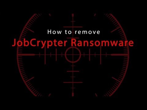 How to delete JobCrypter Ransomware