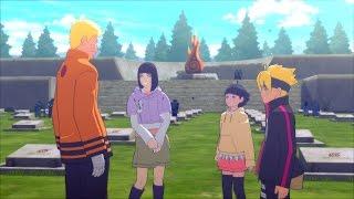 Himawari's Birthday - Sasuke meets Boruto and Hinata - Road