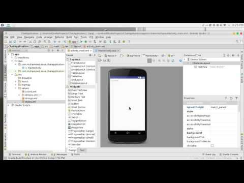 219 Android Studio Chat network JSON NodeJS JavaScript