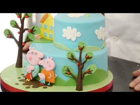 Peppa Pig Cake Tutorial Overview