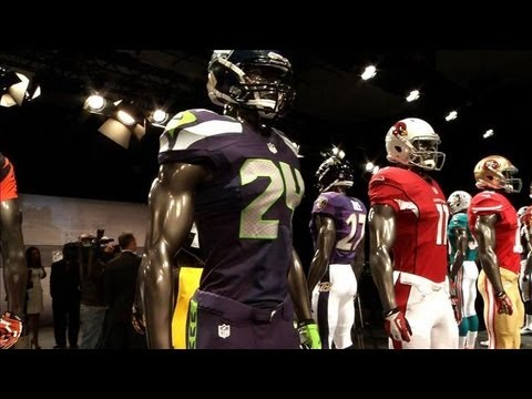 NFL and Nike Unveil New Team Jerseys