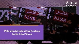 Pakistan Missiles Can Destroy India Into Pieces | SAMAA TV | 23 March 2019