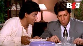 Shahrukh Khan Funny Dinner Scene | Yes Boss | Shahrukh Khan, Juhi Chawla